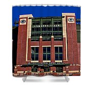 Lambeau Field Green Bay Packers Shower Curtain