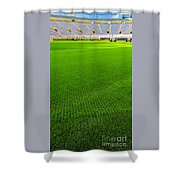 Lambeau Field Hallowed Ground Shower Curtain