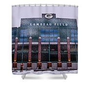 Lambeau  Shower Curtain