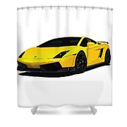 Lambo Shower Curtain