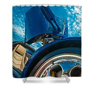 Lamborghini Diablo Shower Curtain