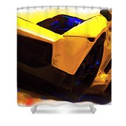 Lamborghini Front End Painting By Brian Reaves