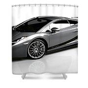 Lamborghini Galardo Superleggera Shower Curtain