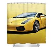 Lamborghini Gallardo 'banana Republic' II Shower Curtain