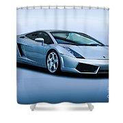 Lamborghini Gallardo 'track Terror' I Shower Curtain