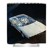 Lamborghini Marzal Shower Curtain