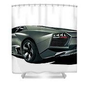 Lamborghini Reventon 2 Shower Curtain