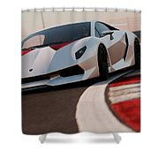 Lamborghini Sesto Elemento - 03 Shower Curtain