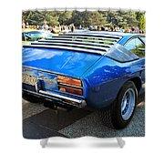 Lamborghini Urraco P250s Rear Shower Curtain