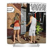 Lame Excuses Shower Curtain by Brian Wallace