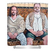 Lament For Donny Shower Curtain by Tom Roderick