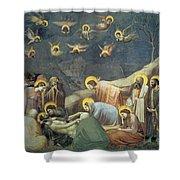Lamentation Of Christ Shower Curtain