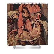 Lamentation Over The Dead Christ 1490 Shower Curtain