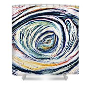 Lamentations Shower Curtain