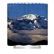 Lamjung Himal Shower Curtain