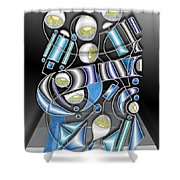 Lamp Arrangement 3 Shower Curtain