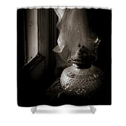 Lamp By The Window Shower Curtain