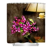 Lamp Light  Shower Curtain