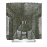 Lamp Shower Curtain
