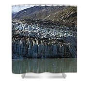 Lamplugh Glacier Shower Curtain