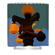 Lamppost Shower Curtain