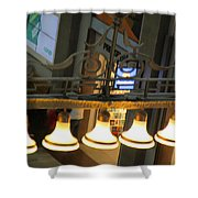 Lamps At The Big C Shower Curtain
