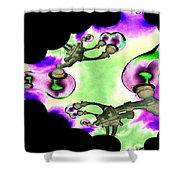 Lamps Shower Curtain