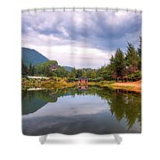 Lampuuk Lake Shower Curtain