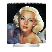 Lana Turner, Hollywood Legend Shower Curtain