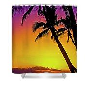 Lanai Sunset II Maui Hawaii Shower Curtain