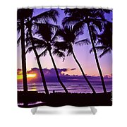 Lanai Sunset Shower Curtain