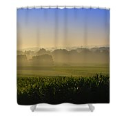 Lancaster County Sunrise Shower Curtain