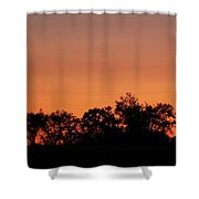 Lancaster County Sunset Shower Curtain