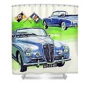 Lancia Aurelia B50 Shower Curtain
