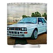 Lancia Delta Hf Integrale Evoluzione Shower Curtain