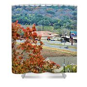 Land 033 Shower Curtain