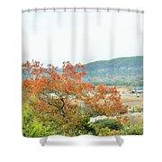 Land 035 Shower Curtain