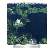 Land Of A Thousand Lakes Shower Curtain