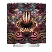 Land Of Confusion Shower Curtain