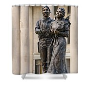 Land Of Hope Shower Curtain