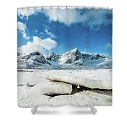 Land Of Ice And Snow Shower Curtain