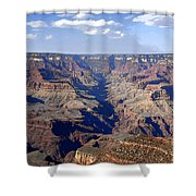 Land Of Many Canyons Shower Curtain