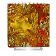 Land Of Oil And Honey Shower Curtain