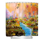 Land Of Oz Shower Curtain