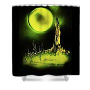 Land Of Rituals Shower Curtain