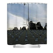 Land Of Stones Shower Curtain