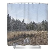 Land Of The 5 Bogs Shower Curtain