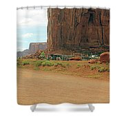 Land Of The Ancestors Shower Curtain