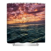 Land Of The Rising Sun Shower Curtain