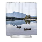 Land Of Thousand Lakes Shower Curtain